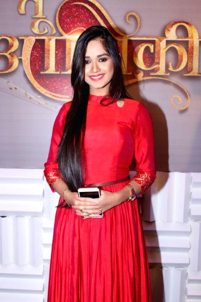 "Actress Jannat Zubair during the launch of colors new TV Show ""Tu Aashiqui"" in Mumbai on Sept 18, 2017. - Jannat Zubair"