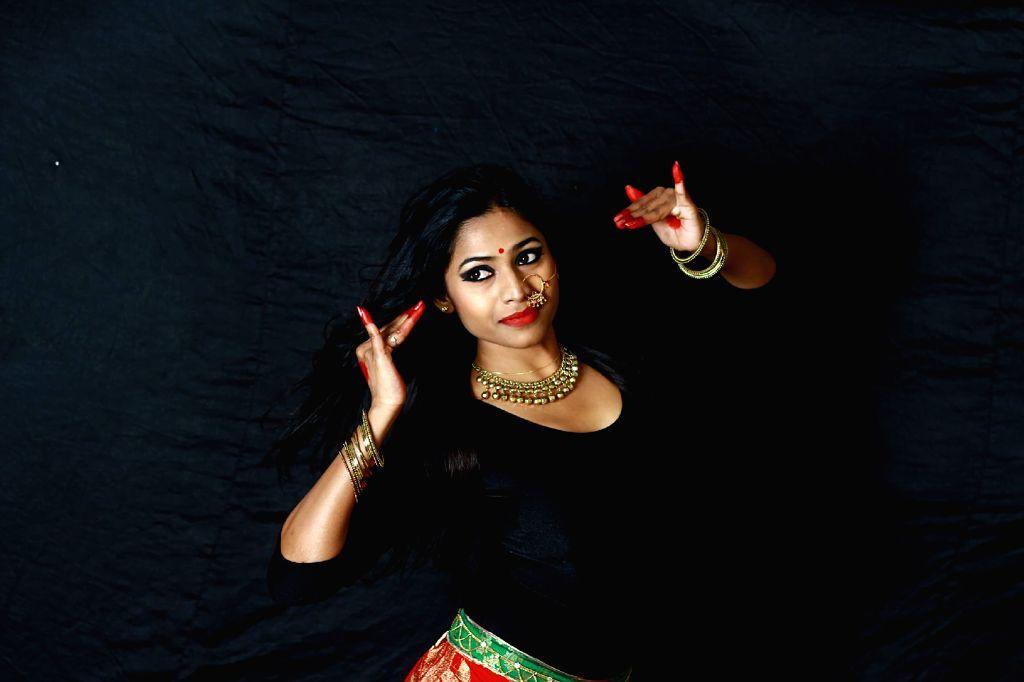 Actress Jaqlene Prakash photoshoot.