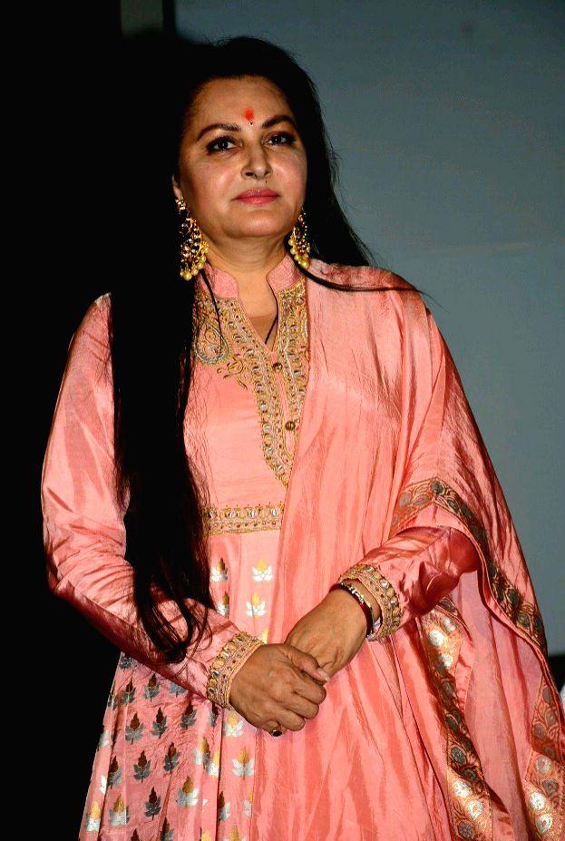 Actress Jaya Prada during a programme in Jaipur, on March 30, 2017. - Jaya Prada