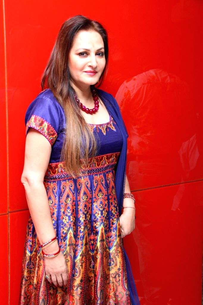 Actress Jaya Prada during the trailer and audio launch of Telugu film `Uyire Uyire`. - Jaya Prada