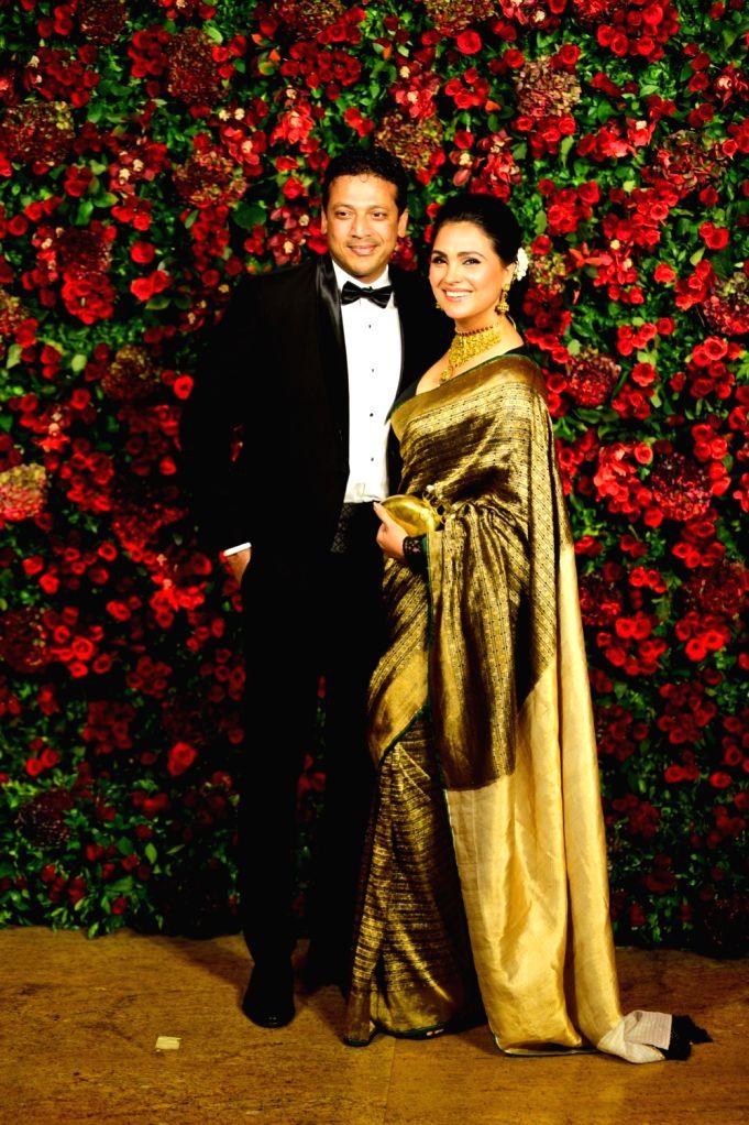 Deepika Padukone and Ranveer Singh's wedding reception ...