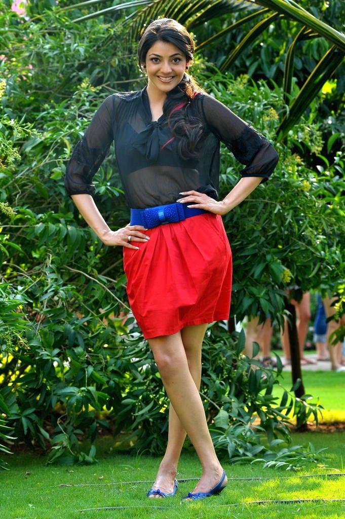 Actress Kajal Aggarwal. - Kajal Aggarwal