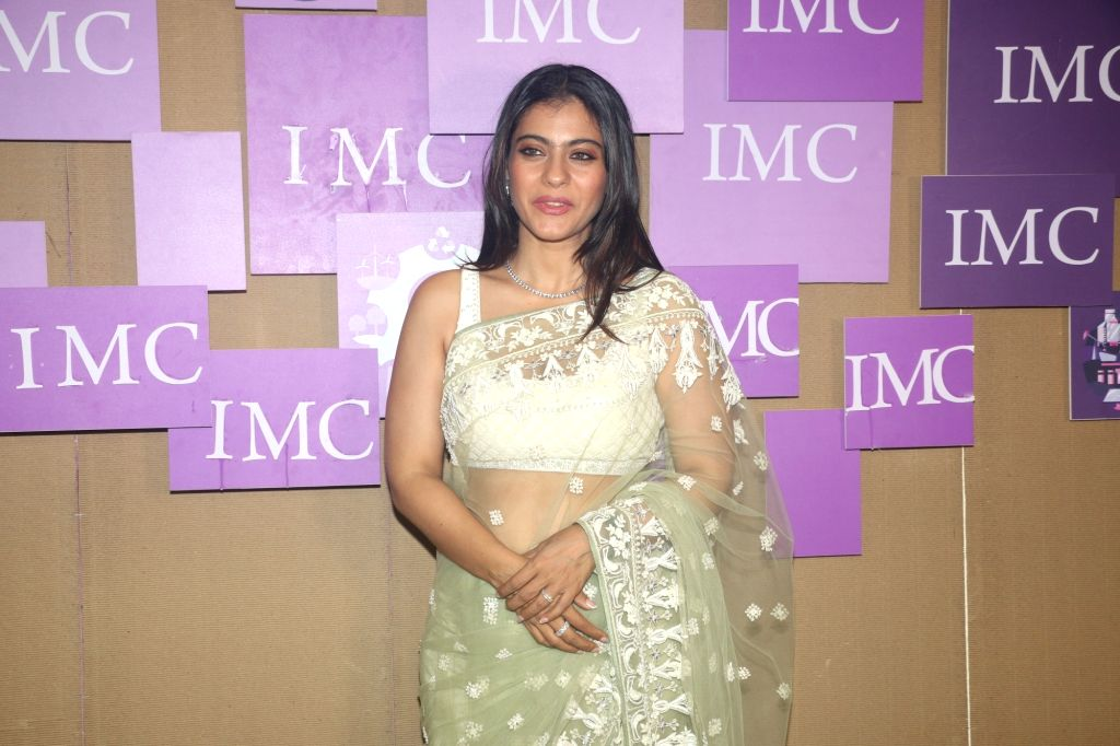 Actress Kajol at IMC Ladies' Wing - Women Entrepreneurs' Exhibition 2019, in Mumbai on Aug 21, 2019. - Kajol