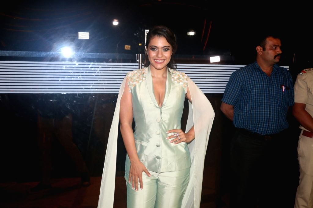 Actress Kajol during the NBT Utsav Awards 2019, Mumbai on July 27, 2019. - Kajol