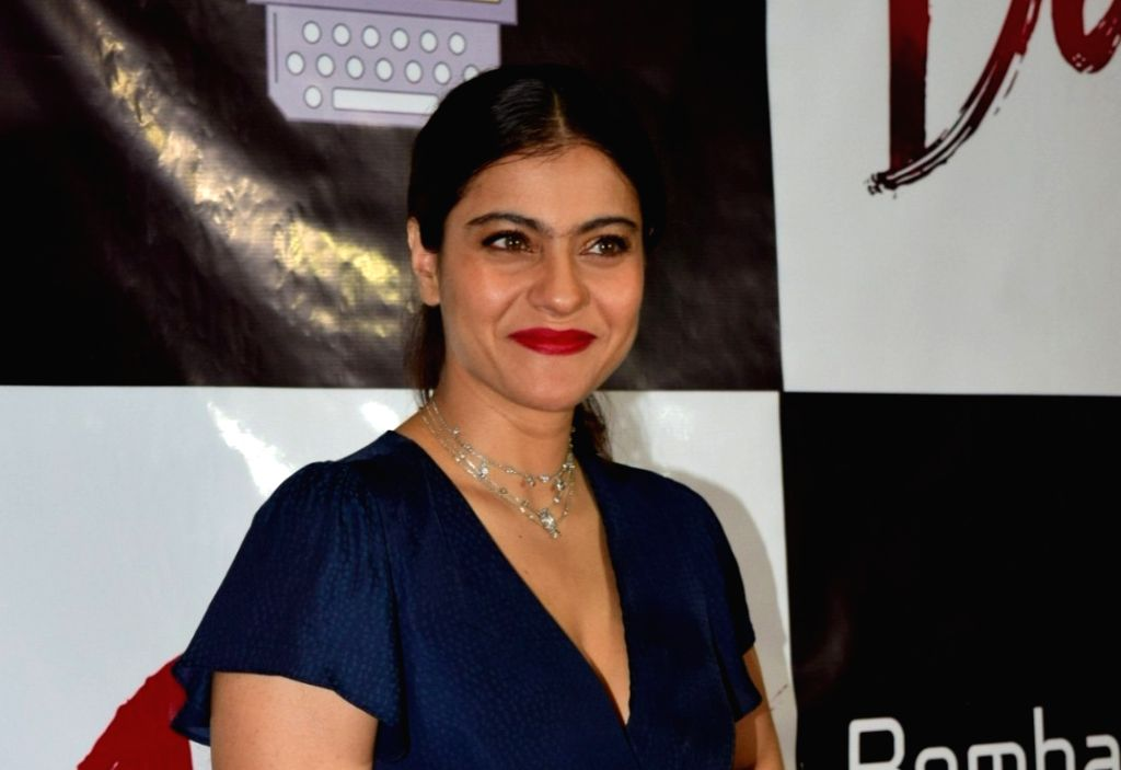 Actress Kajol. (Photo: IANS) - Kajol