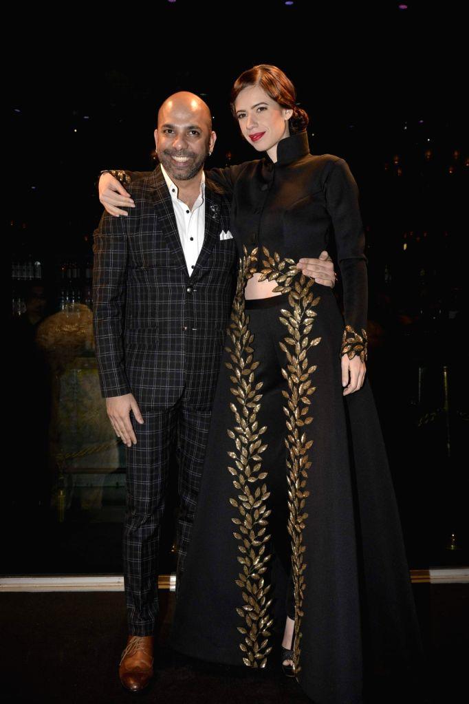 Actress Kalki Koechlin walks for designer Mayyur Girotra Show at Taj Hotel in Delhi on 5th Dec 2015