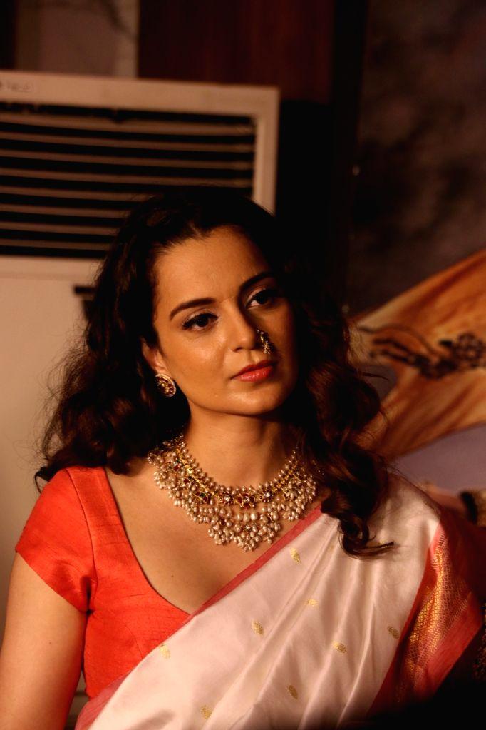 Actress Kangana Ranaut at the success party of her film 'Manikarnika: The Queen Of Jhansi', in Mumbai, on March 3, 2019. - Kangana Ranaut