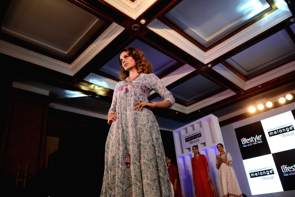Actress Kangana Ranaut during a programme in Mumbai on April 11, 2017. - Kangana Ranaut