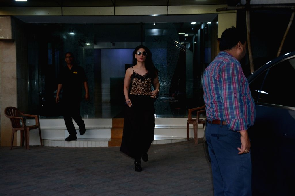 Actress Kareena Kapoor Khan at celebrity stylist Esha Amiin's birthday bash in Mumbai, on March 3, 2019. - Kareena Kapoor Khan