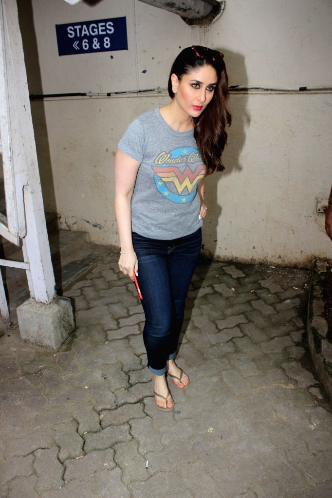 Actress Kareena Kapoor Khan at Mehboob Studio in Mumbai, on July 4, 2017. - Kareena Kapoor Khan