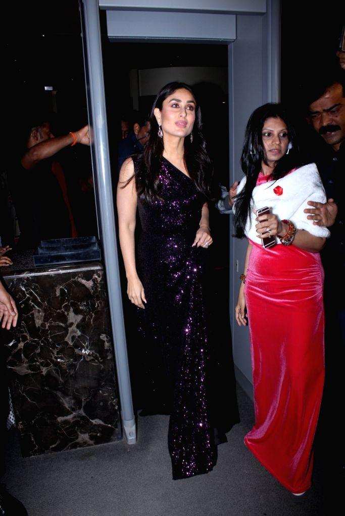 Actress Kareena Kapoor Khan during 2019 International Quality Awards (IQA) in Mumbai, on March 15, 2019. - Kareena Kapoor Khan