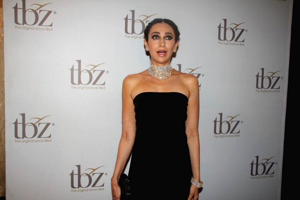 Actress Karishma Kapoor during the launch of Tribhovandas Bhimji Zaveri- TBZ, new Jewellery store in Mumbai on Oct 21, 2015.