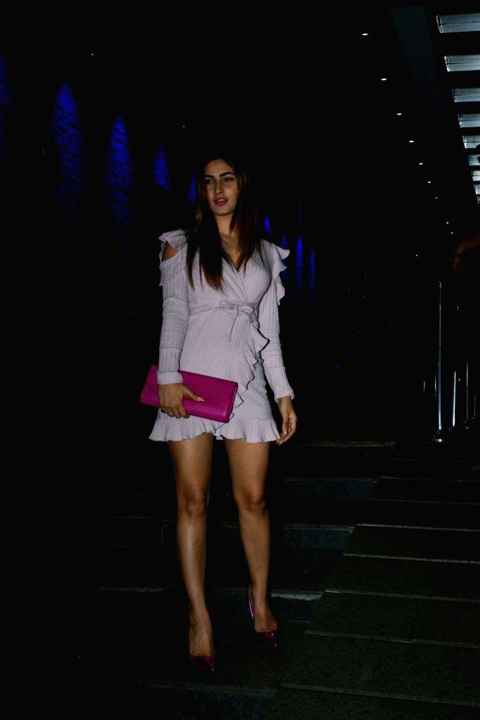 Actress Karishma Sharma seen at a restaurant in Bandra, Mumbai on July 25, 2018. - Karishma Sharma