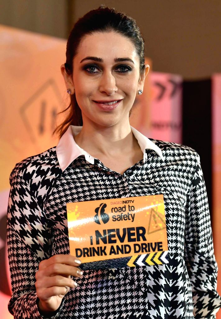Actress Karisma Kapoor at the launch of 'Road to Safety' - a nationwide campaign to make Indian roads safer in Bangalore, on Oct.9, 2014. - Karisma Kapoor