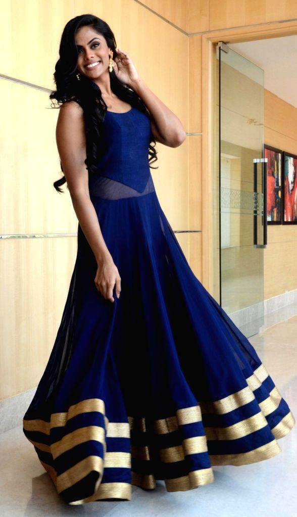 Actress Karthika Nair during a promotional programme in Bhopal on May 18, 2017. - Karthika Nair
