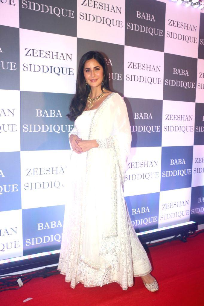 Actress Katrina Kaif at Congress leader Baba Siddique's Iftar party in Mumbai, on June 2, 2019. - Katrina Kaif