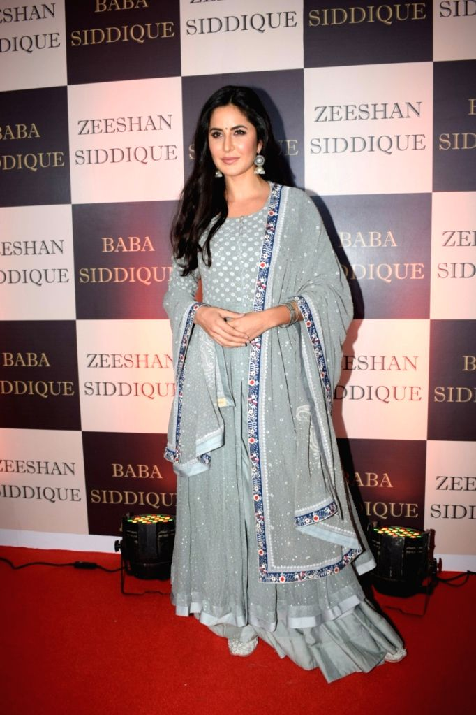 Actress Katrina Kaif at politician Baba Siddique's iftar party in Mumbai on June 10, 2018. - Katrina Kaif