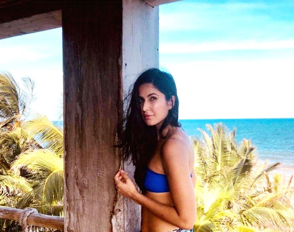 Actress Katrina Kaif during a vacation in Mexico. - Katrina Kaif