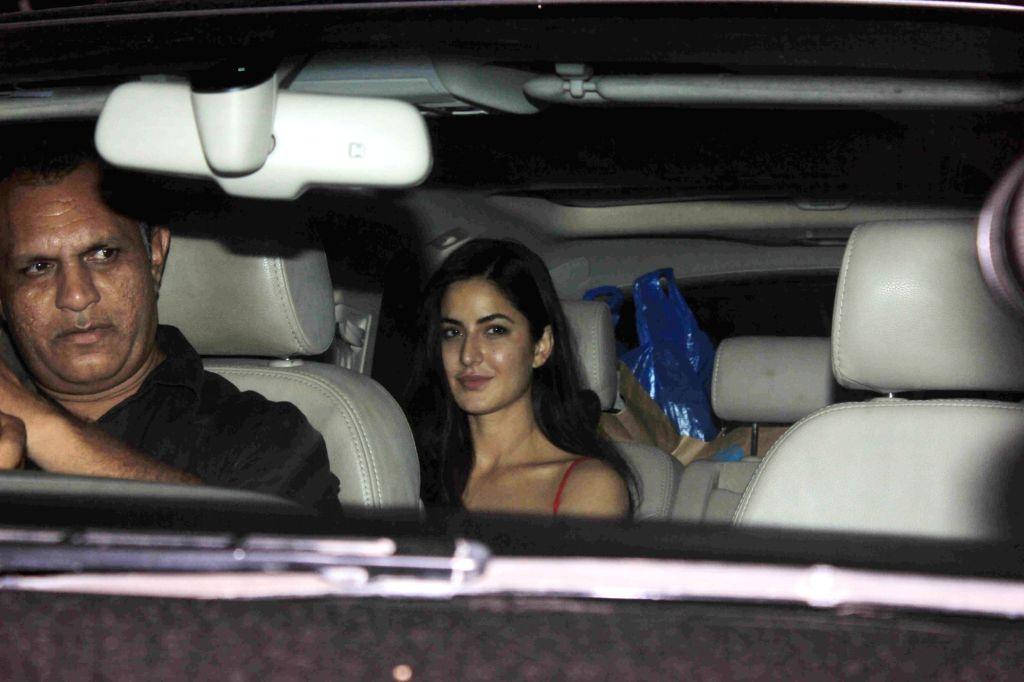 Actress Katrina Kaif during her birthday party in Mumbai, on July 15, 2016. - Katrina Kaif
