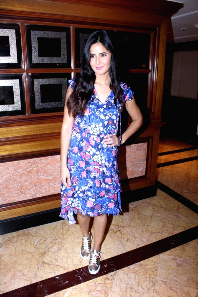 "Actress Katrina Kaif during promotion of her upcoming film ""Jagga Jasoos"" in Mumbai on July 4, 2017. - Katrina Kaif"