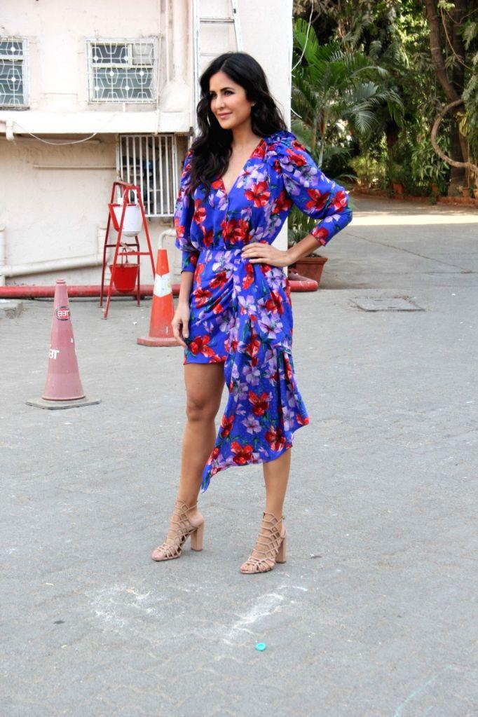 "Actress Katrina Kaif during the promotions of her upcoming film ""Bharat"" in Mumbai, on May 31, 2019. - Katrina Kaif"