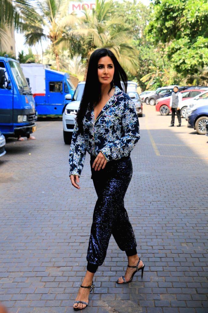 """Actress Katrina Kaif during the promotions of her upcoming film """"Bharat"""" in Mumbai, on June 3, 2019. - Katrina Kaif"""