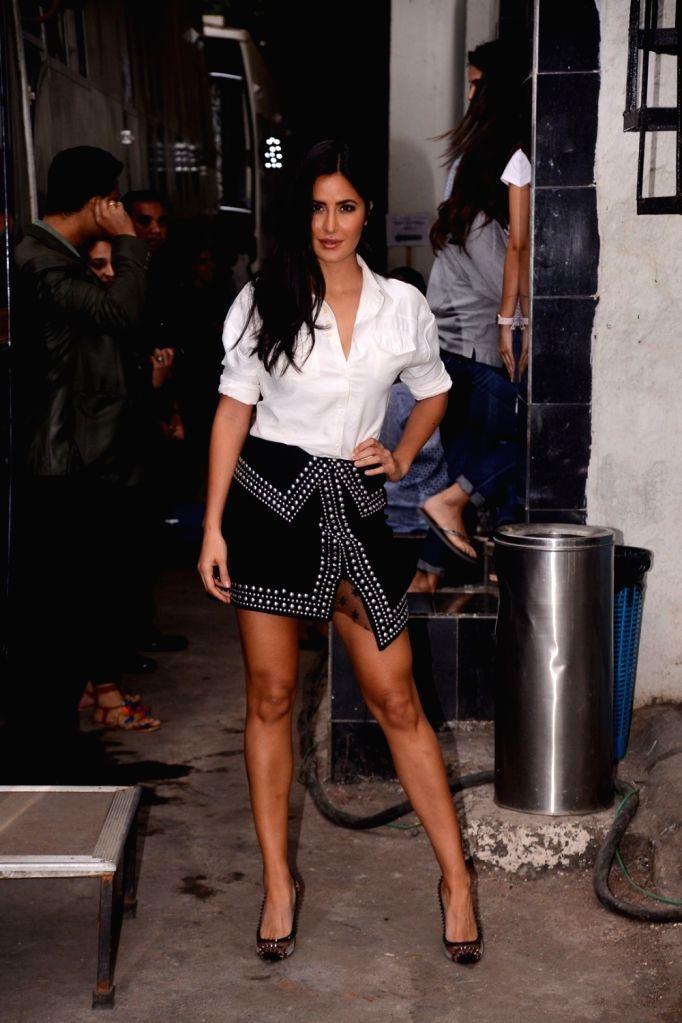 "Actress Katrina Kaif on the sets of television reality show ""Vogue BFFs"" season two in Mumbai on Dec 4, 2017. - Katrina Kaif"