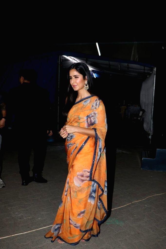 Actress Katrina Kaif seen at a Mumbai studio on May 25, 2019. - Katrina Kaif