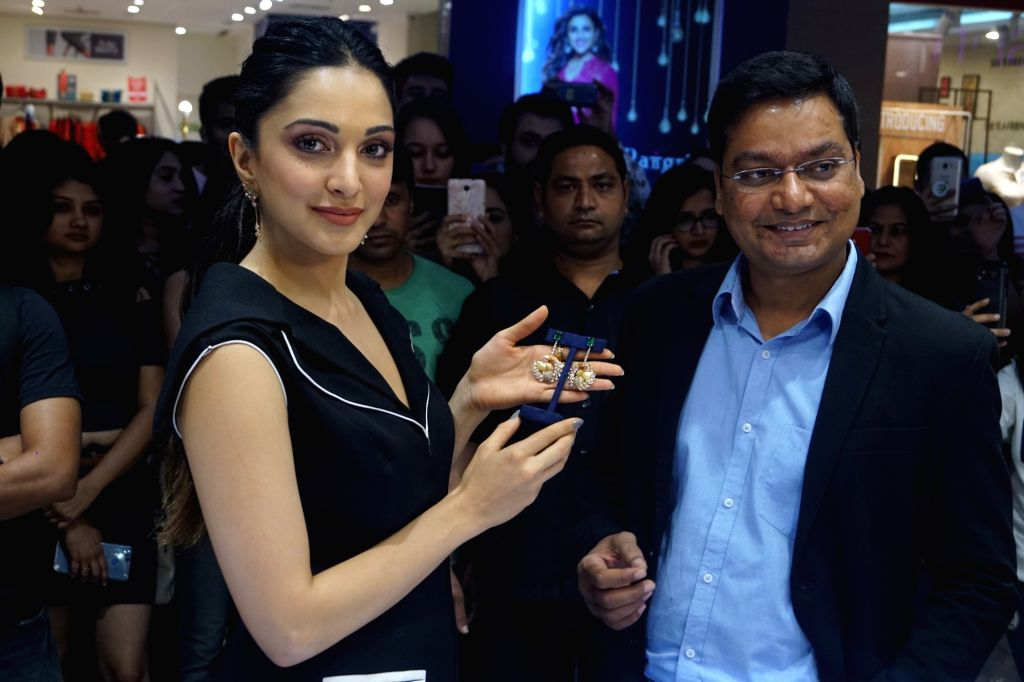 Actress Kiara Advani at the launch of a jewellery store in Mumbai on Dec 11, 2018. - Kiara Advani