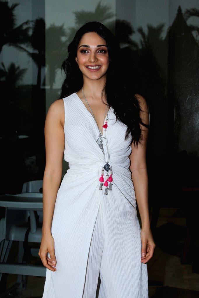 "Actress Kiara Advani during the promotions of her upcoming film ""Kabir Singh"" in Mumbai on June 12, 2019. - Kiara Advani and Kabir Singh"