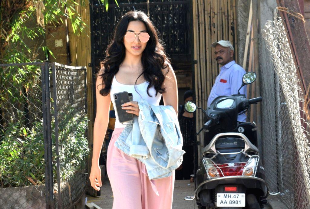 Actress Kiara Advani seen at a photography studio in Mumbai's Versova, on April 9, 2019. - Kiara Advani