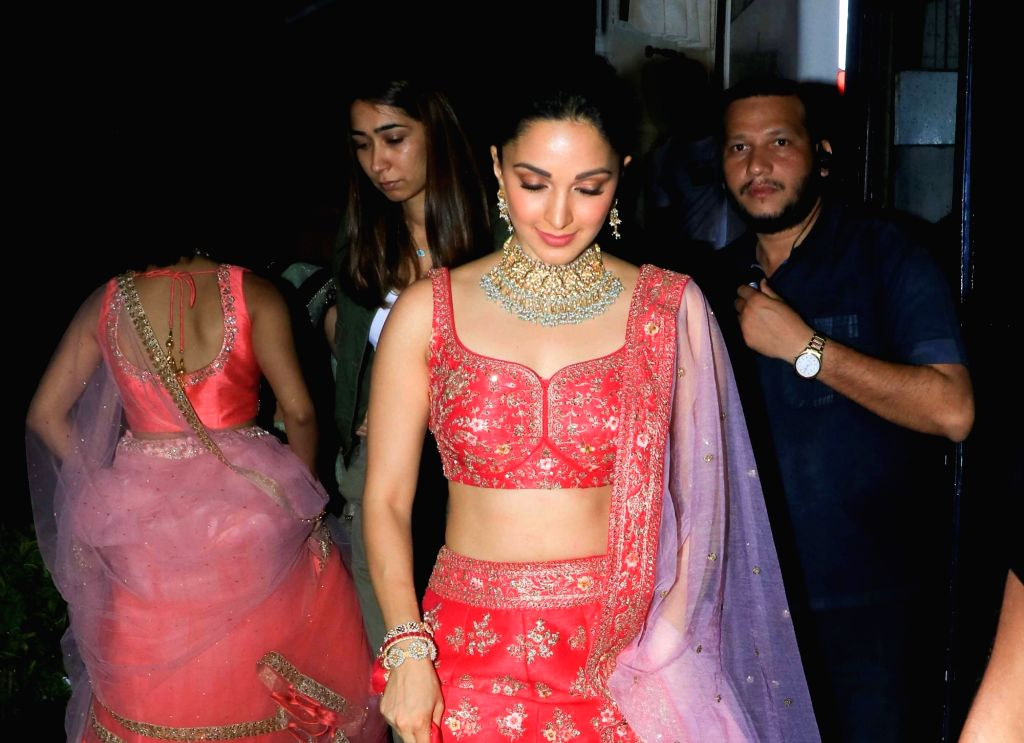 Actress Kiara Advani seen at Filmalaya Studio in Mumbai on Sep 8, 2019. - Kiara Advani
