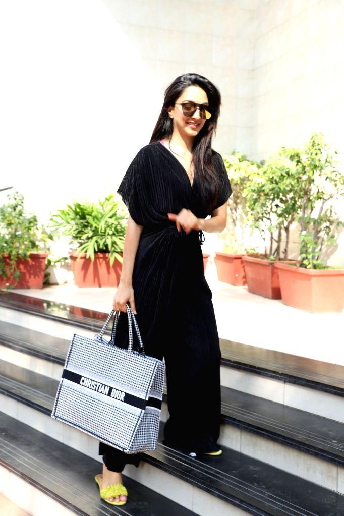 Actress Kiara Advani seen at Juhu in Mumbai on Jan 24, 2020. - Kiara Advani