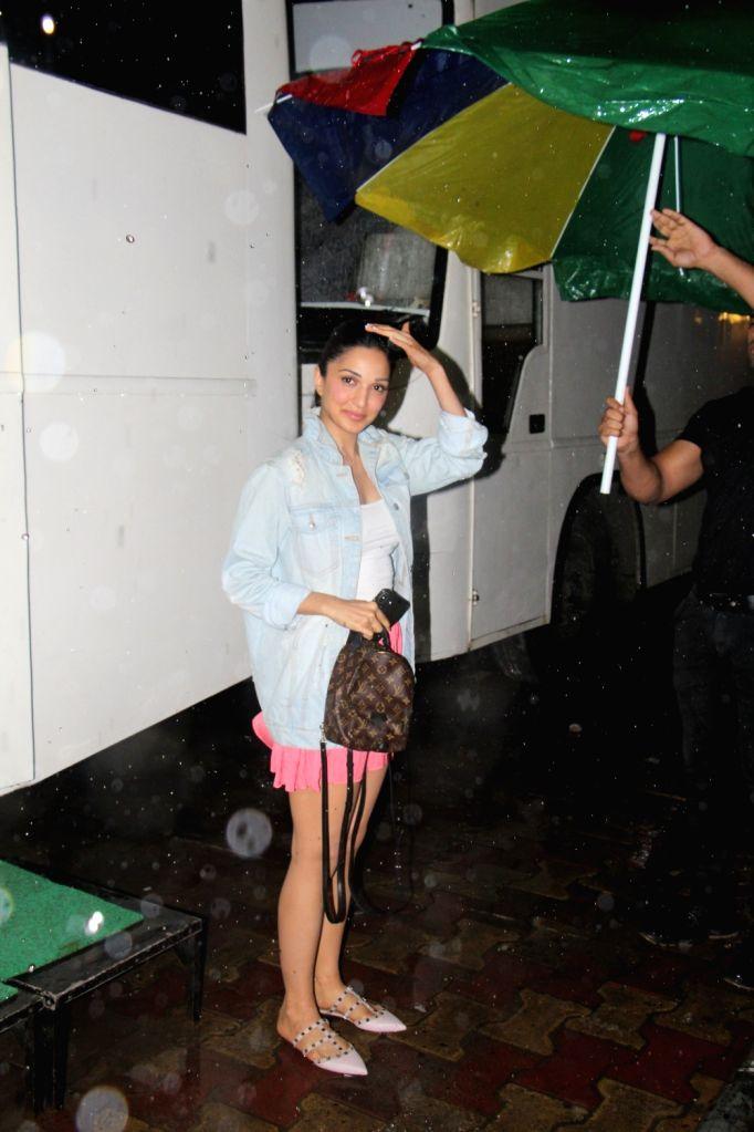 Actress Kiara Advani seen in Mumbai on Aug 4, 2019. - Kiara Advani