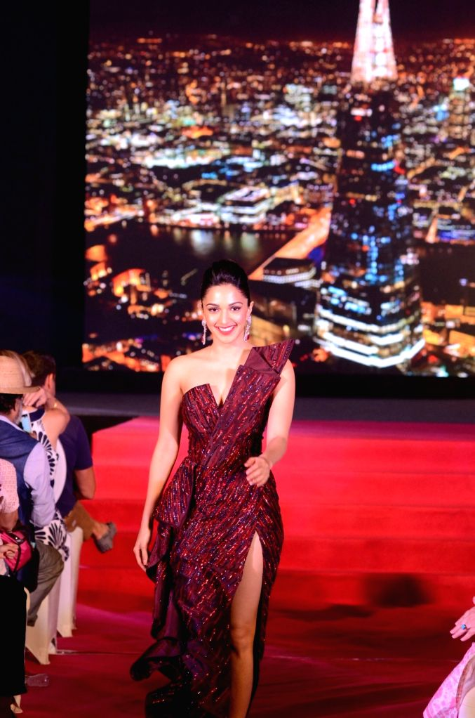 "Actress Kiara Advani walked the ramp for a cause at CSA's (Catalysts for Social Action) fundraiser ""The Eternal Bond"" in Mumbai on Sept 17, 2017. - Kiara Advani"