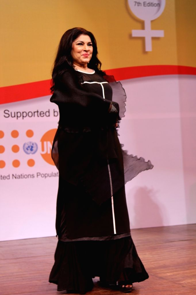 Actress Kiran Juneja during the 7th National Laadli Media and Advertising Awards for Gender Sensitivity 2014-2015,  in Mumbai, on April 13, 2016. - Kiran Juneja