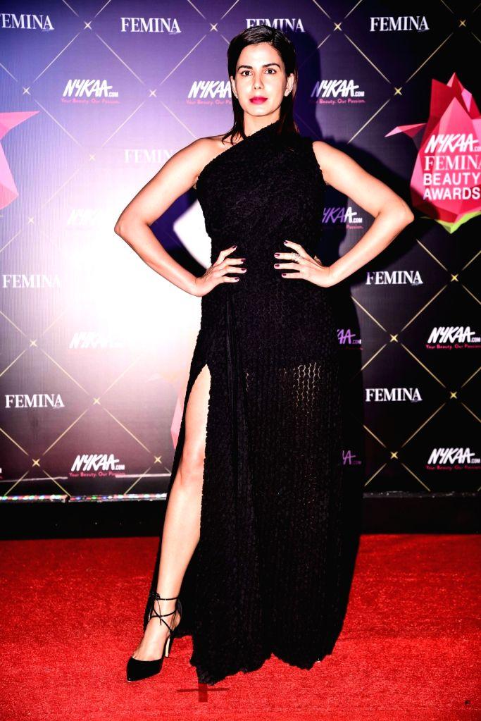 Actress Kirti Kulhari at Nykaa Femina Beauty Awards 2019, in Mumbai, on Feb 20, 2019. - Kirti Kulhari