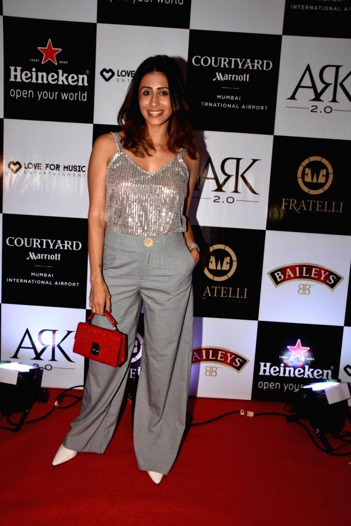 Actress Kishwer Merchant during a programme in Mumbai on Nov 1, 2018. - Kishwer Merchant
