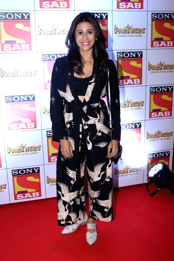 "Actress Kishwer Merchantt at the red carpet of new television show ""Partners"" in Mumbai on Nov 28, 2017. - Kishwer Merchantt"