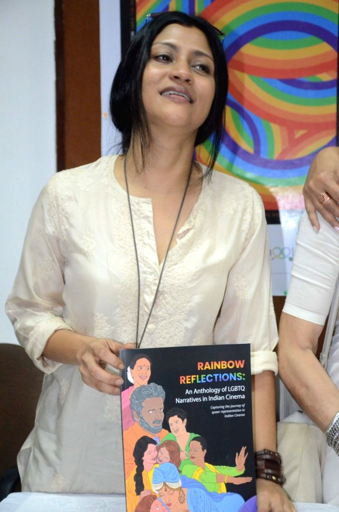 Actress Konkana Sen at the 10th edition of Mumbai International Queer Film Festival 2019, in Mumbai on June 6, 2019. - Konkana Sen