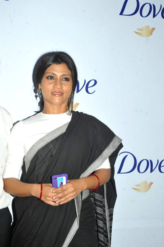 Actress Konkona Sen Sharma at the Dove Beauty Patch experiment panel discussion with author Kiran Manra and Pastry Chef Pooja Dhingra in Mumbai on Wednesday, April 9, 2014.