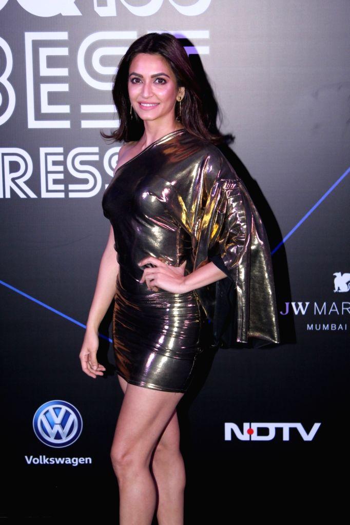 """Actress Kriti Kharbanda at """"GQ 100 Best Dressed Awards 2019"""", in Mumbai, on June 1, 2019. - Kriti Kharbanda"""