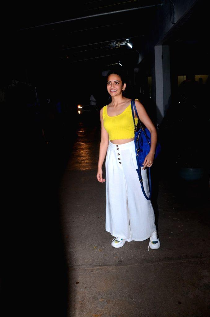 "Actress Kriti Kharbanda at the screening of the Marathi film ""Smile Please"" in Mumbai on July 15, 2019. - Kriti Kharbanda"
