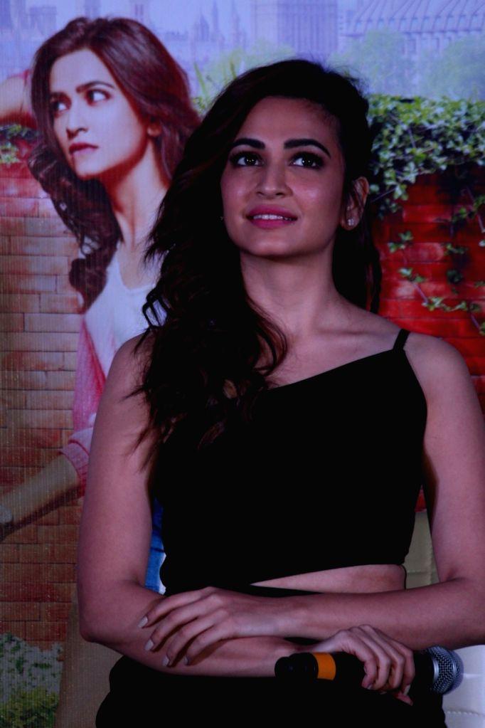 """Actress Kriti Kharbanda during a press conference regarding his upcoming film """"Guest Iin London"""" in Mumbai on July 3, 2017. - Kriti Kharbanda"""