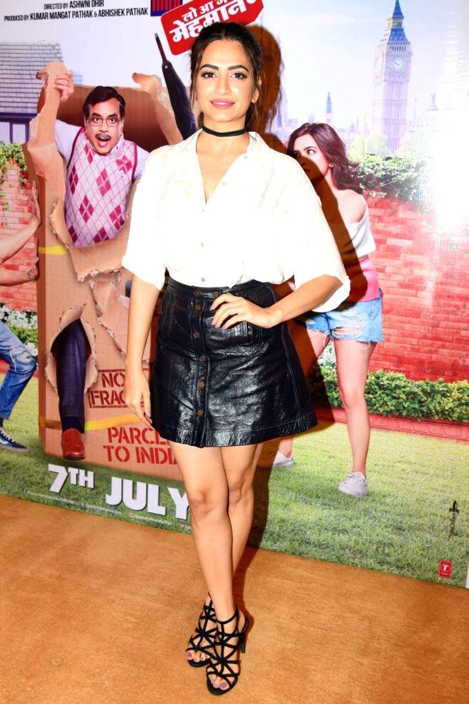 "Actress Kriti Kharbanda during a programme organised to promote her upcoming film ""Guest Iin London"" in New Delhi, on July 5, 2017. - Kriti Kharbanda"