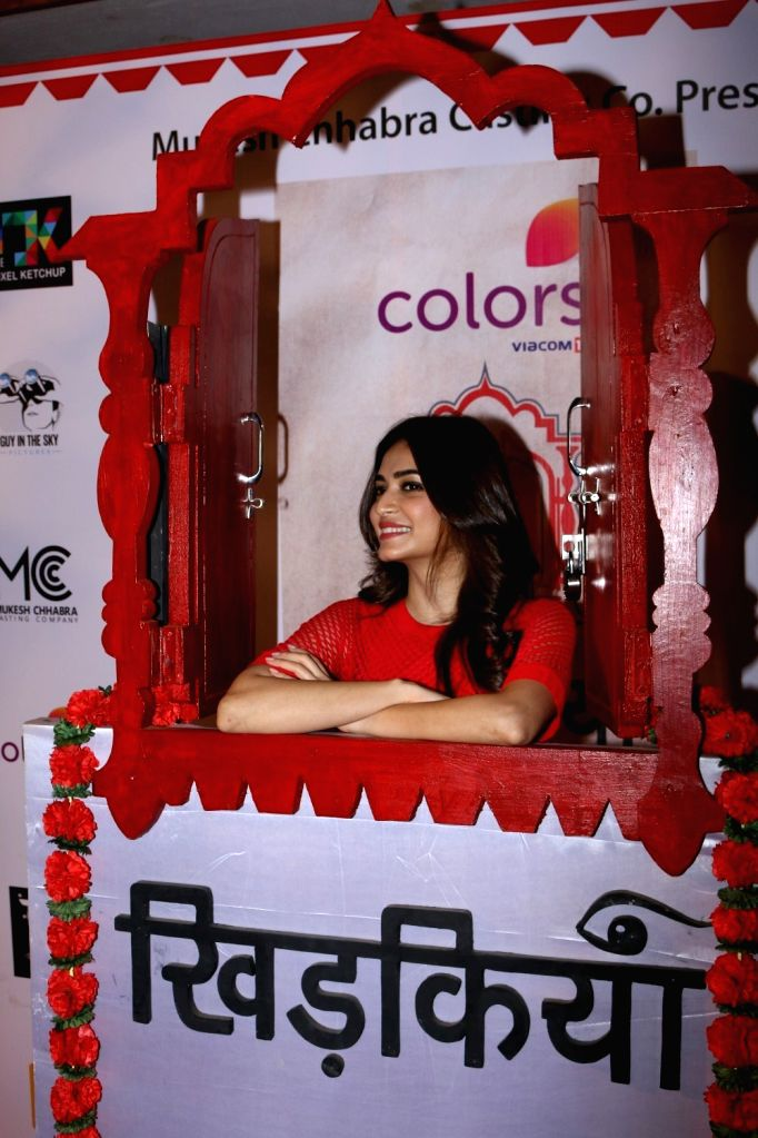 Actress Kriti Kharbanda during the Colours Khidkiyaan Theater Festival-Day 5 in Mumbai on March 5, 2017. - Kriti Kharbanda
