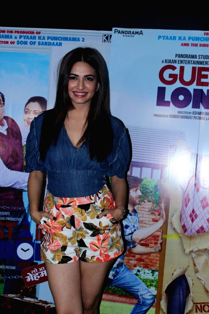 Actress Kriti Kharbanda during the promotion of film Guest Iin London in Mumbai, on June 1, 2017. - Kriti Kharbanda