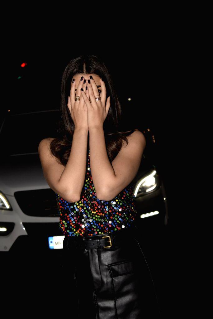 Actress Kriti Sanon at film Luka Chuppi's wrap up party in Mumbai on Jan. 28, 2019 - Kriti Sanon