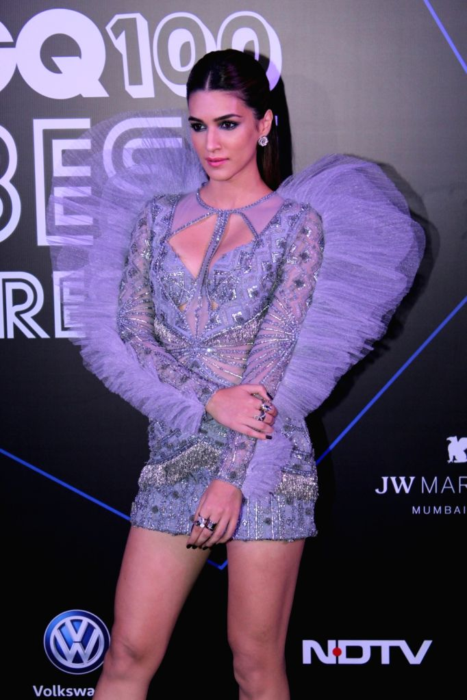 "Actress Kriti Sanon at ""GQ 100 Best Dressed Awards 2019"", in Mumbai, on June 1, 2019. - Kriti Sanon"
