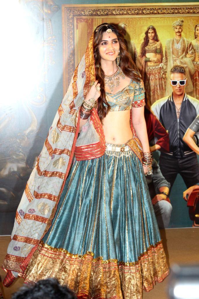 "Actress Kriti Sanon at the trailer launch of their upcoming film ""Housefull 4"" in Mumbai on Sep 27, 2019. - Kriti Sanon"
